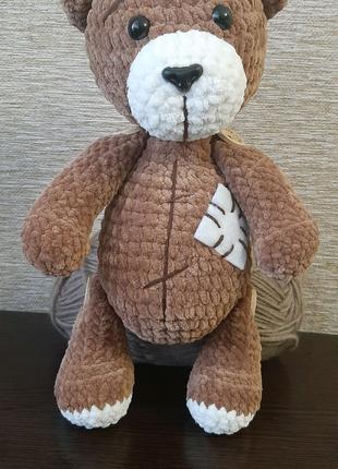 Вязаный крючком мишка Тедди