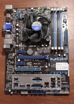 Asus P8Z77-V LX Intel Z77 Socket 1155 + Intel Core i5-2320 3.0...