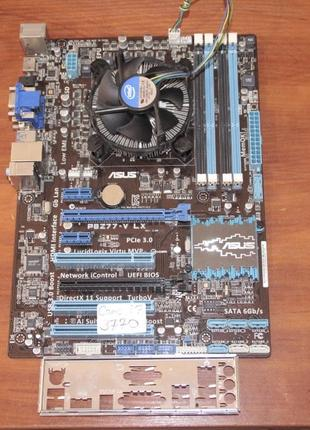 Asus P8Z77-V LX Intel Z77 Socket 1155 + Intel Core i7-3770 3.4...