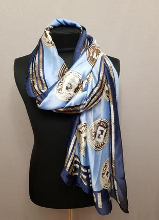 Шёлковый платок в стиле fendi
