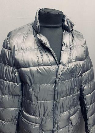 Мужская легкая куртка пуховик