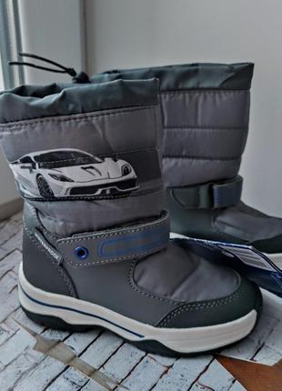 Термо чоботи чобітки сапожки для детей lupilu