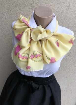 Винтаж,шелковый шарф,шарфик,люкс бренд,италия