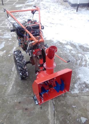 Снегоуборщик к мотоблоку Zubr105-135 и аналоги