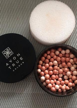 Пудра-шарики с эффектом сияния
