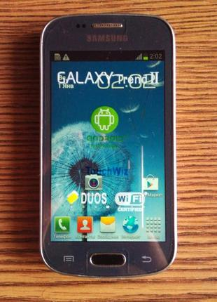 Samsung Galaxy Trend DUOS 2. 4'' 2SIM RAM0.7GB ROM4GB 5mPix