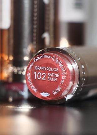 Губная помада grand rouge тон 102 ив роше