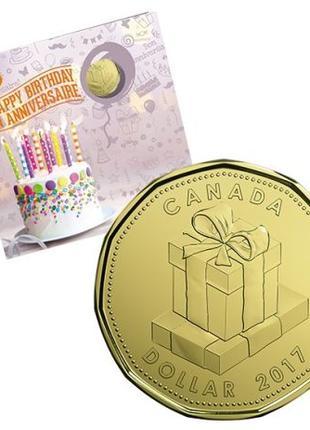 Подарочный набор канадских монет 'Happy Birthday' 2017