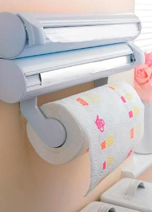 Органайзер для полотенец фольги пленки держатель