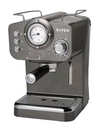 Новая кофеварка эспрессо RAVEN EER001G