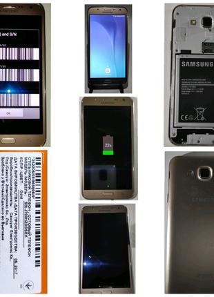 Samsung galaxy J7 + навушники