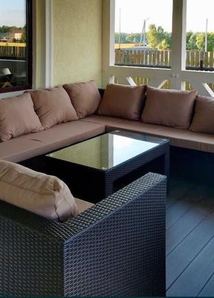 Мебель под заказ из искусственного ротанга