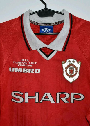 Manchester United Champions League Winners 1999 Umbro.