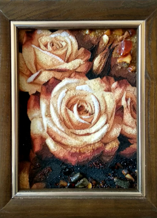 Картина с янтаря 15*20см