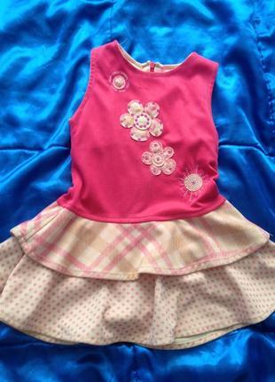 Милое платьице на девочку 3 лет