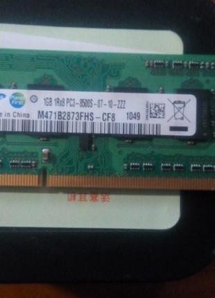 Модуль памяти для ноутбука SoDIMM DDR3 1GB 1066 MHz Samsung