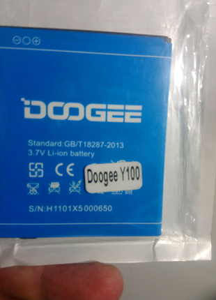Аккумулятор doogee y100 originally