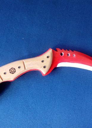 Деревянный нож Коготь(Talon Knife)из и