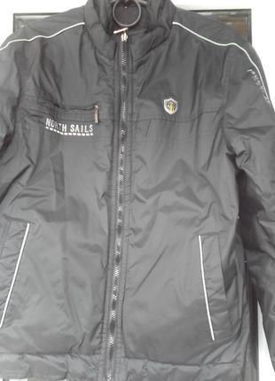 Осенняя мужская куртка р 46.