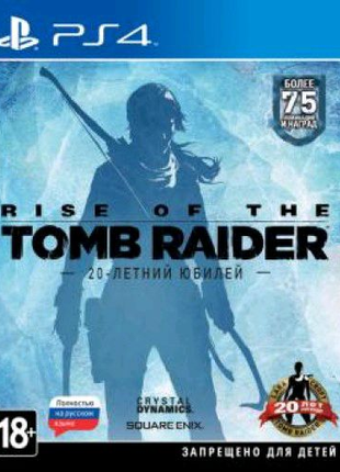 Rise of the Tomb Raider (PS4, русская версия)