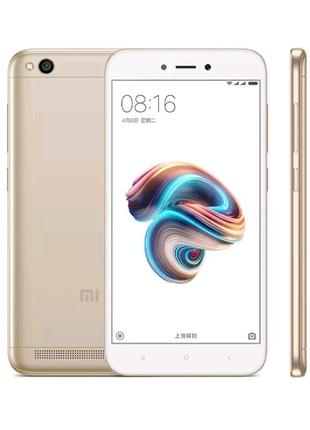 Xiaomi Redmi 5a, новий, золотистий
