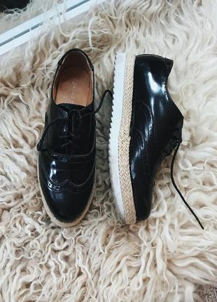 Туфли - оксфорды от coco perla