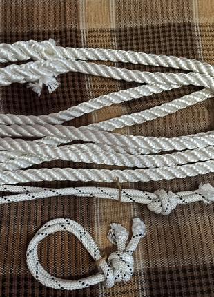 Трос (канат) буксировочный, рывковый (динамический) 16 мм 4 метра
