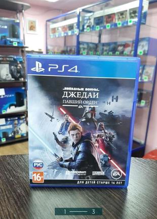 Star Wars Jedi Fallen Order (PS4, русская версия)
