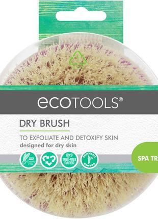 Щётка для сухого массажа ecotools dry brush