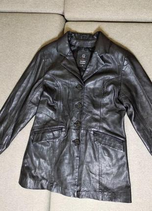 Куртка женская натуральная кожа xl