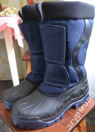Мужские зимние сноубутсы. ботинки