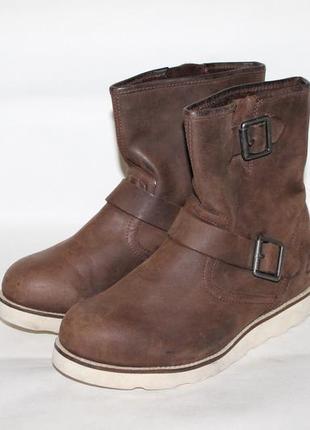 Diesel кожаные ботинки 36,5-37 размер 100% натуральная кожа