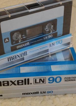 Аудиокассеты (cassette) - Maxell LN 90