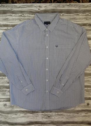 Мужская рубашка 100% коттон размер 54-56