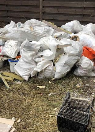 Вывоз мусора Лютеж Новые петровцы Старые петровцы
