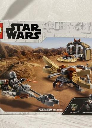 Lego Star Wars (75299) Проблемы на Татуине