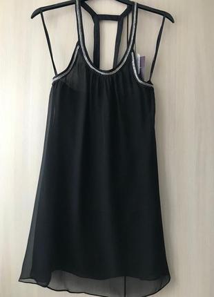 Роскошная туника, платье, длинная блуза pepe jeans / xs / нату...