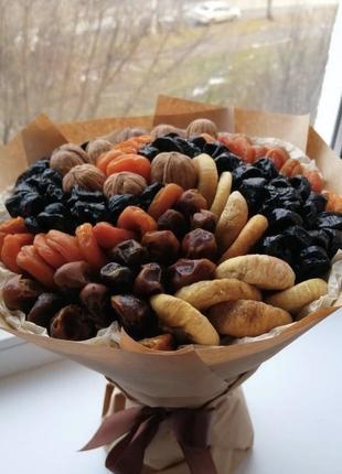Букет из сухофруктов Киев, фруктовый букет, букет Киев