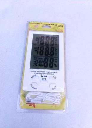 Термометр гигрометр влагомер градусник для комнаты вологомір нтс