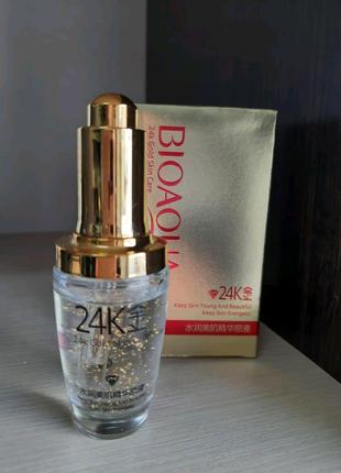BIOAQUA 24K gold skin Care сыворотка для лица