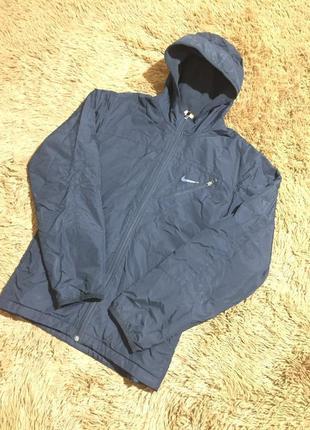 Мужская куртка nike ( найк мрр идеал оригинал черная)