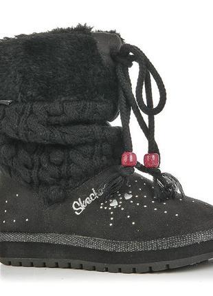 Twinkle toes skechers угги сапоги замшевые 19.5 см
