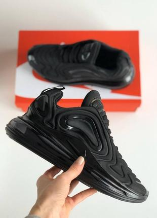 Кросівки найк айр макс 720 чорні nike air max 720 full black