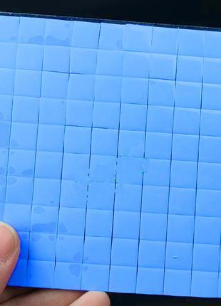 термопрокладка для чипов 10х10х1мм 20 штук
