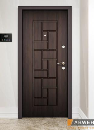 Двери входные стальные 86x205, 96х205.Утепленный короб