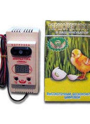 """Терморегулятор """"Лина"""" с влагомером 1 кВт. (цифровой, высокоточный"""