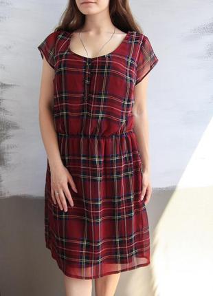 Шикарное платье в клетку от simply be