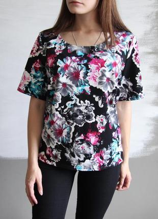 Блузка с красивым принтом от g21