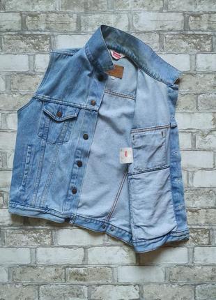 Безрукавка levi's levis джинсовая как wrangler куртка