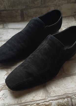 Туфли clemento замшевые